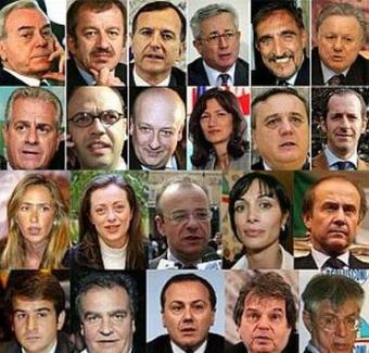 """Governo """"Berlusconi IV""""  - foto segnaletiche"""